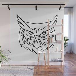 Wisdom - B&W Wall Mural