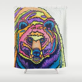 I Can't Bear it! Shower Curtain
