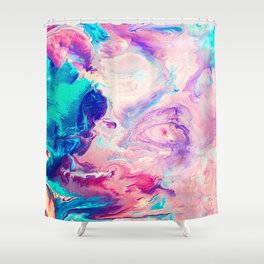 Ice Paint Shower Curtain