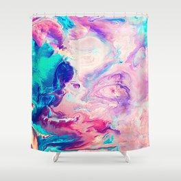 Ice Paint Shower Curtain