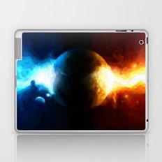 Galactic Countdown - Painting Style Laptop & iPad Skin
