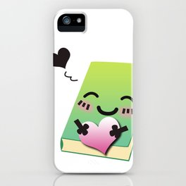 Book Emoji Love iPhone Case