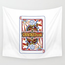 The Cracked Wild Card Wall Tapestry