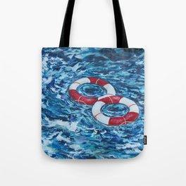 Two Lifesavers Tote Bag