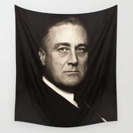 Franklin D. Roosevelt, about 1932 Wall Tapestry