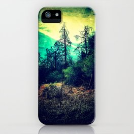 Looking Out through the Rabbit-Hole iPhone Case