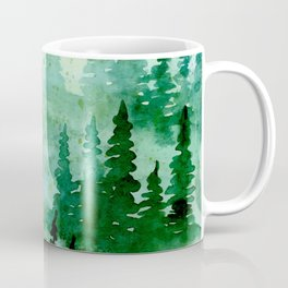 Deep in the pine woods Coffee Mug