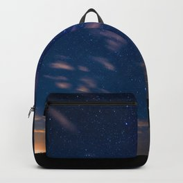 Milky Way over the Glass House Mountains Backpack