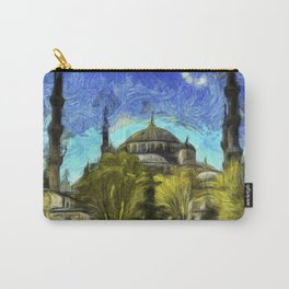 Blue Mosque Istanbul Art Carry-All Pouch