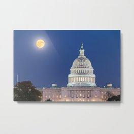 The Harvest Moon Metal Print