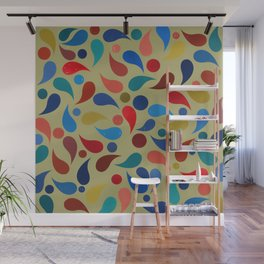 Abstract Composition 386 Wall Mural