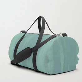 Seafoam Suede Duffle Bag