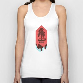 Poster Project   Rise Unisex Tank Top