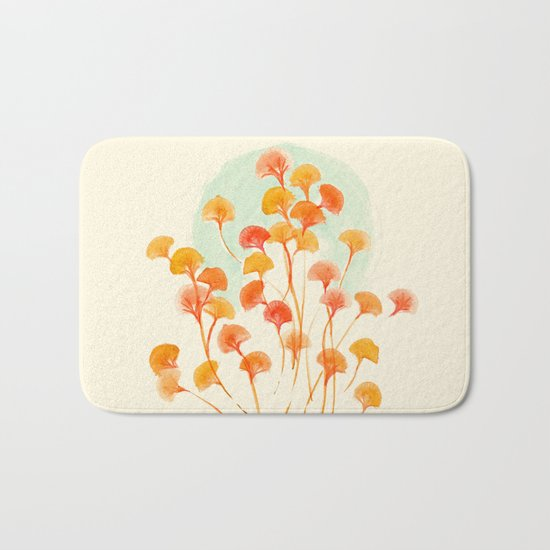 The bloom lasts forever Bath Mat