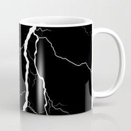Lightning (Black & White) Coffee Mug