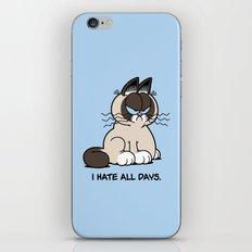 Always Grumpy iPhone & iPod Skin