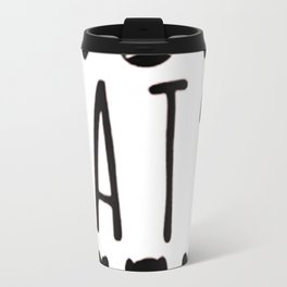 I'M MY CAT'S PERSON Travel Mug
