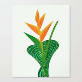 Heliconia Flower Paradise Canvas Print