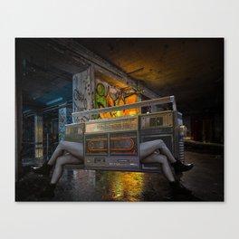 Stereo Love Canvas Print