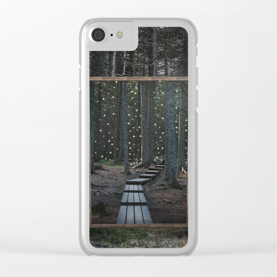 Mirror of the soul Clear iPhone Case