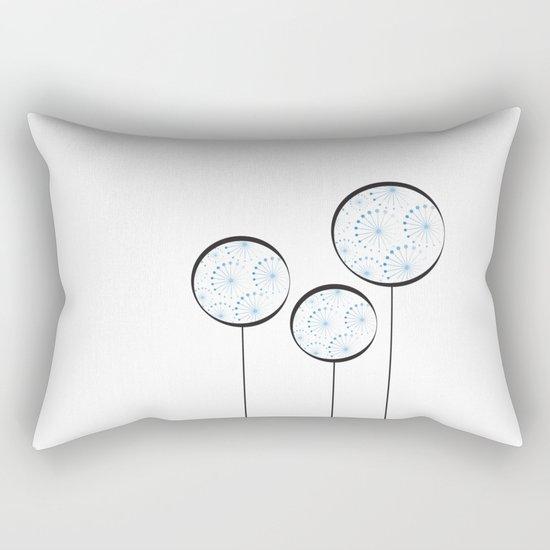 Abstract Dandelion Rectangular Pillow