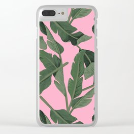 Tropical '17 - Forest [Banana Leaves] Clear iPhone Case