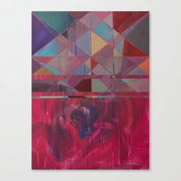 idioglossoia (em turbulência) Canvas Print