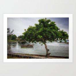 Cap Malheureux, Mauritius Art Print