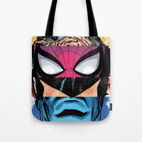 comic book Tote Bags featuring Comic by Molnár Roland