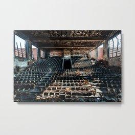 Horace Mann Auditorium Metal Print