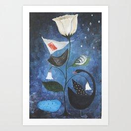 Uncharted Dreams Art Print