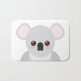 Funny cute koala Bath Mat