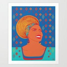 Miriam Makeba Art Print