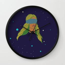 BLIND SPACE Wall Clock