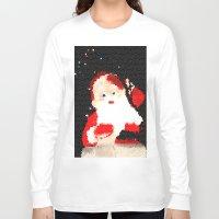 santa Long Sleeve T-shirts featuring Santa  by Isa Fett