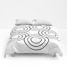 Spirals Comforters