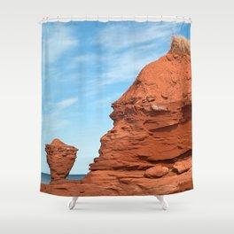 Mohawk Teapot Rock Shower Curtain