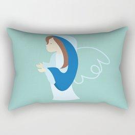 Assumption of Mary - Nossa Senhora dos Navegantes - Blessed Virgin Mary Rectangular Pillow