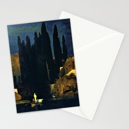 Island Of The Dead - Arnold Bocklin Stationery Cards