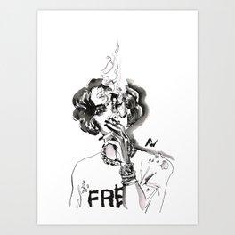 Marihanna Art Print