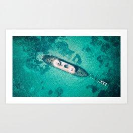 Sinker Art Print