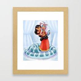Naga Mom Framed Art Print