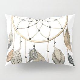 Dream Catcher Brown Pillow Sham