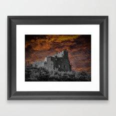 St. John's Castle, Carlingford, Rep. of Ireland Framed Art Print