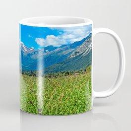 Bergwiese mit Talschluss Coffee Mug