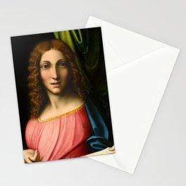 "Antonio Allegri da Correggio ""Salvator Mundi"" Stationery Cards"