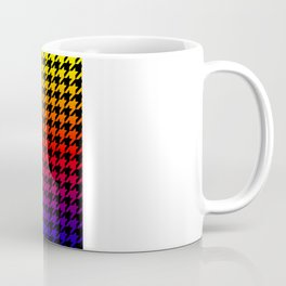 Houndstooth Sundown Coffee Mug