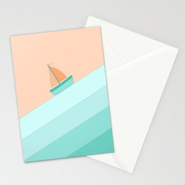 Boat on the Water #1 Stationery Cards