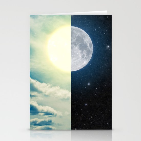 As each day ends... Stationery Cards