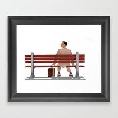 Forest Gump Framed Art Print
